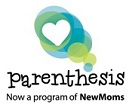 Parenthesis, now a program of New Moms Donation Page